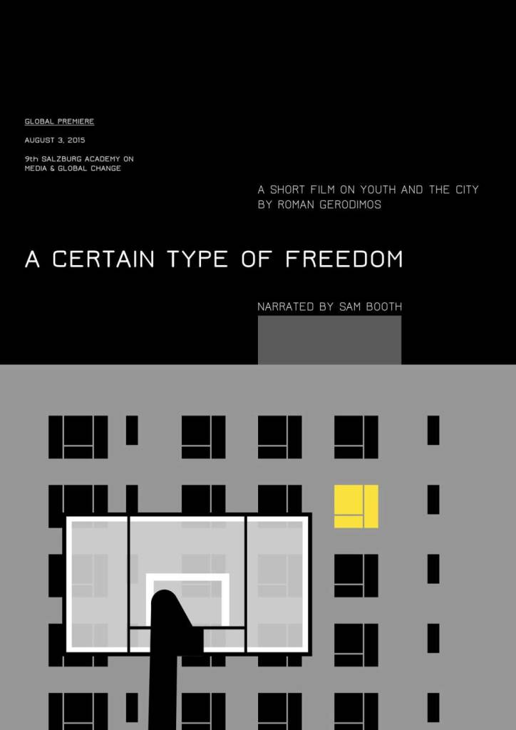 A Certain Type of Freedom - poster Salzburg sm