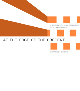 At The Edge Of The Present - timeline poster